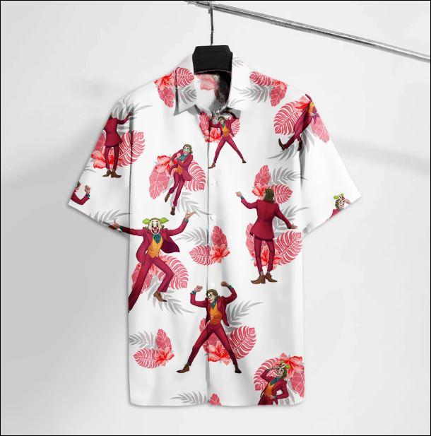 Joker dancing hawaiian shirt