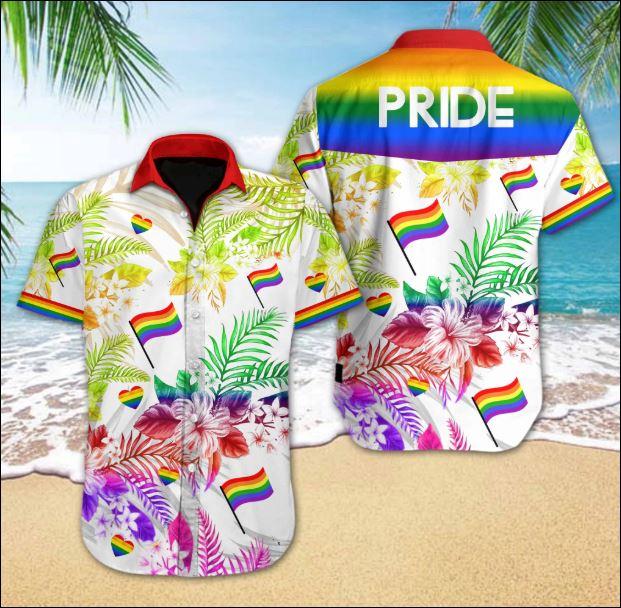 LGBT Pride hawaiian shirt