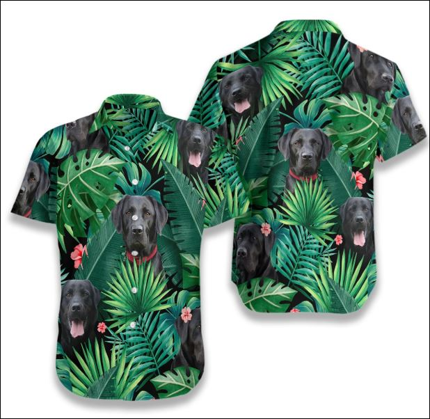 Labrador Tropical hawaiian shirt