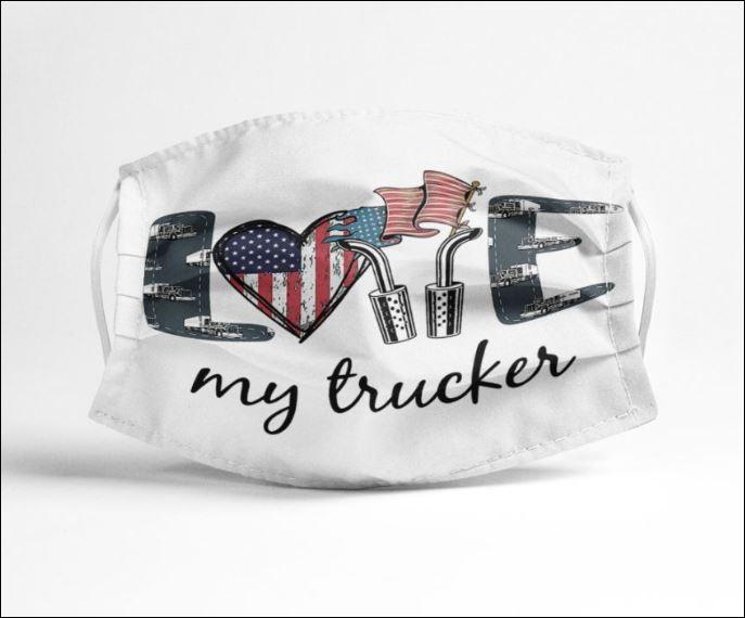 Love my trucker face mask
