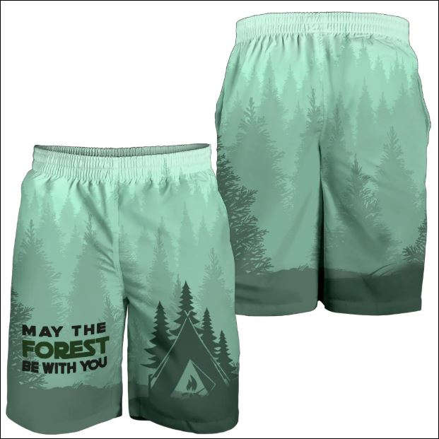 May the forest be with you beach short