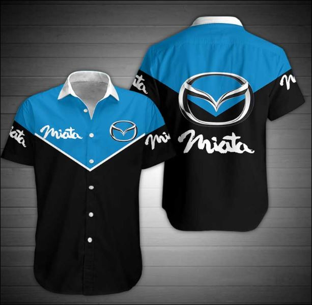 Mazda Miata hawaiian shirt