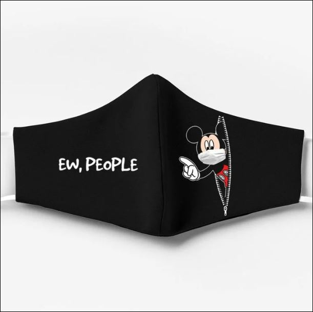 Mickey mouse ew people face mask