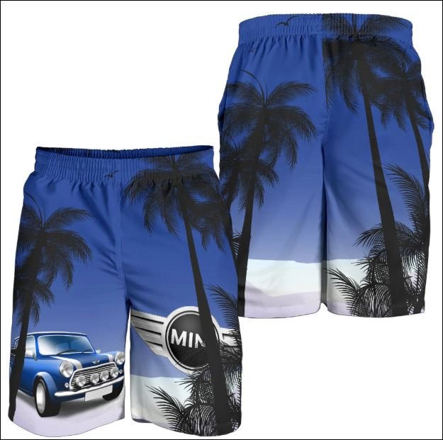 Mini Cooper beach short
