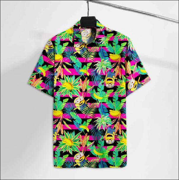 Minion Tropical hawaiian shirt