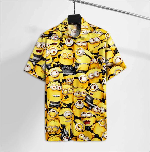 Minion hawaiian shirt