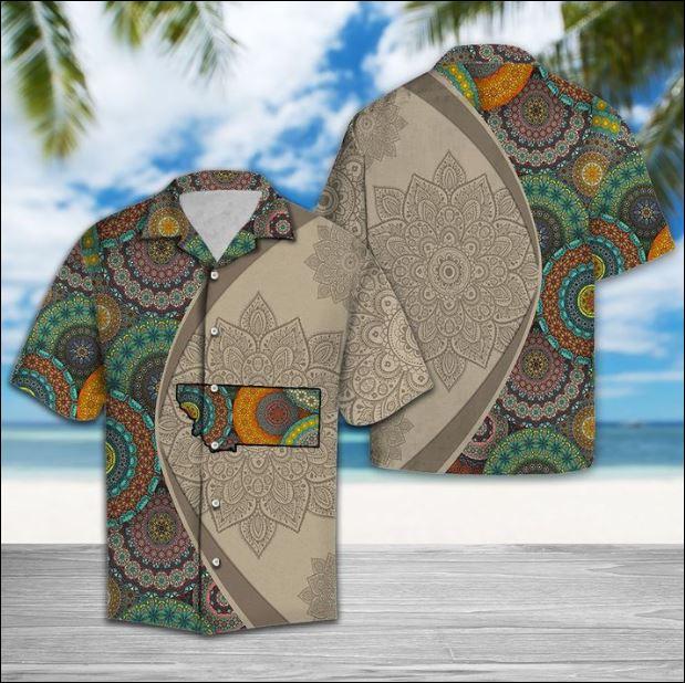 Montana Mandala hawaiian shirt