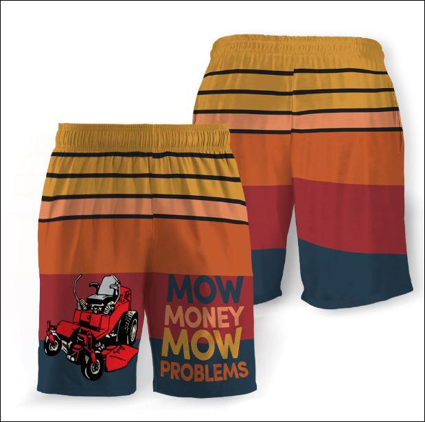 Mow money mow problems beach short