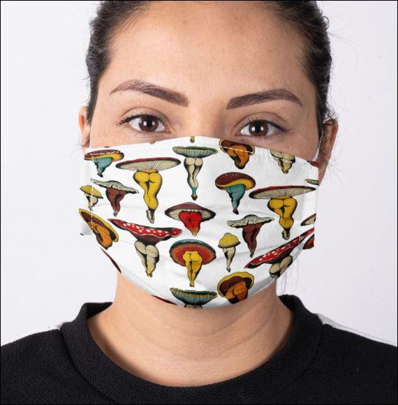 Mushroom boday face mask