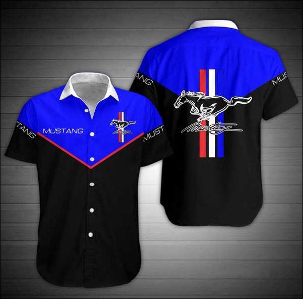Mustang hawaiian shirt