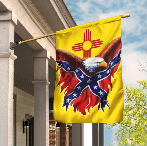 New Mexico Confederate American flag
