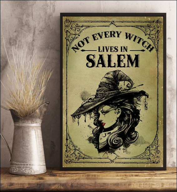 Not every witch lives in salem poster 1