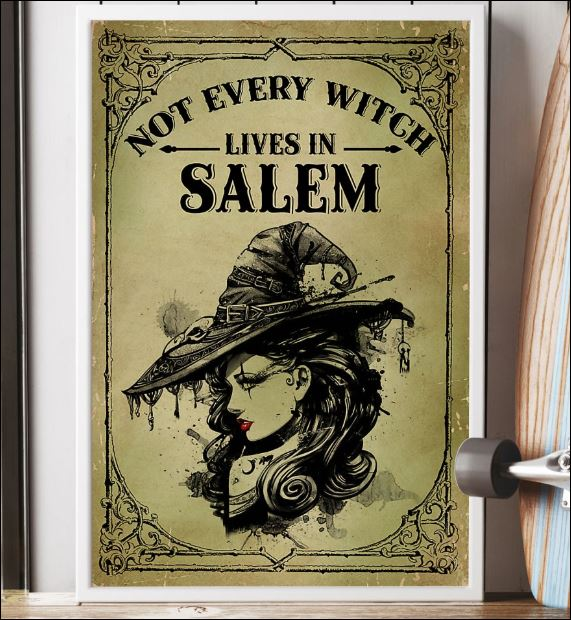 Not every witch lives in salem poster 2