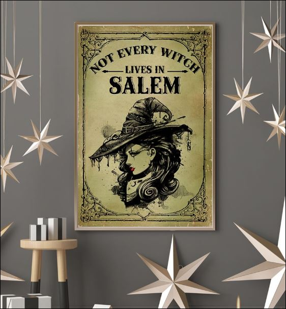Not every witch lives in salem poster 3