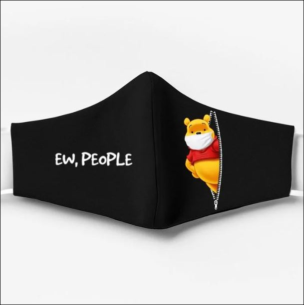 Pooh ew people face mask