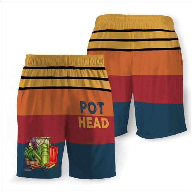 Pot head beach short