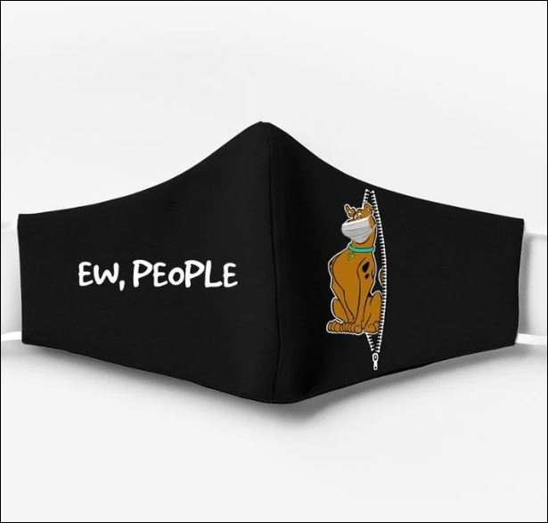 Scooby Doo ew people face mask