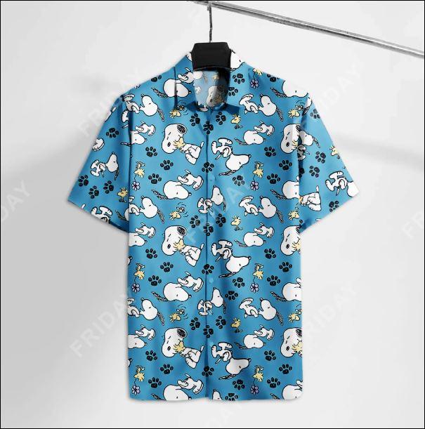 Snoopy and Woodstock hawaiian shirt
