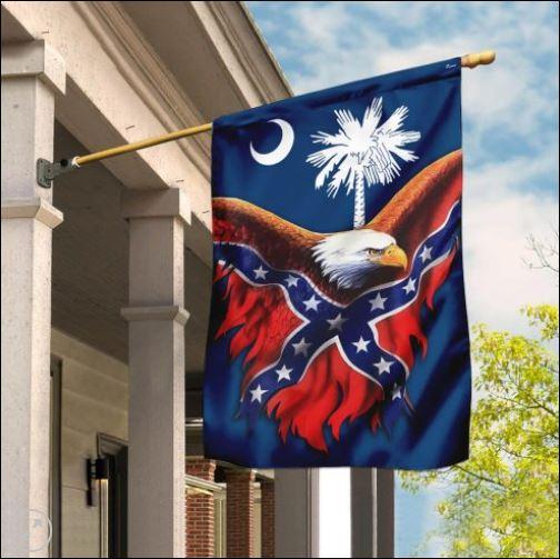 South Carolina Confederate American flag
