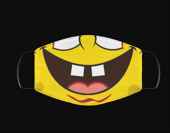 SpongeBob SquarePants mouth face mask