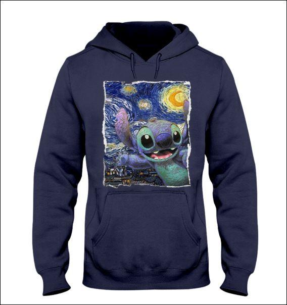 Stitch Starry night hoodie
