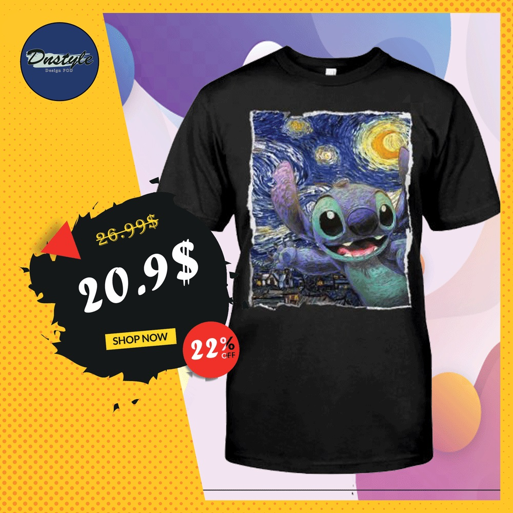 Stitch Starry night shirt