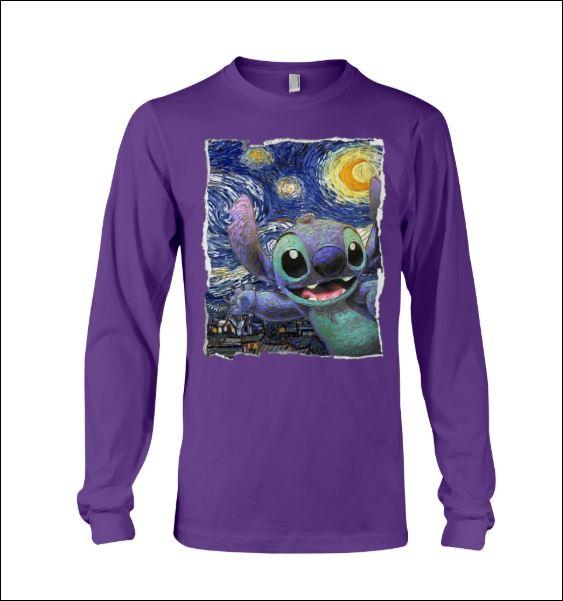 Stitch Starry night long sleeved