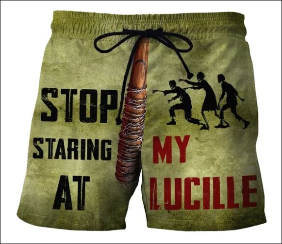 Stop staring at my lucille beach short