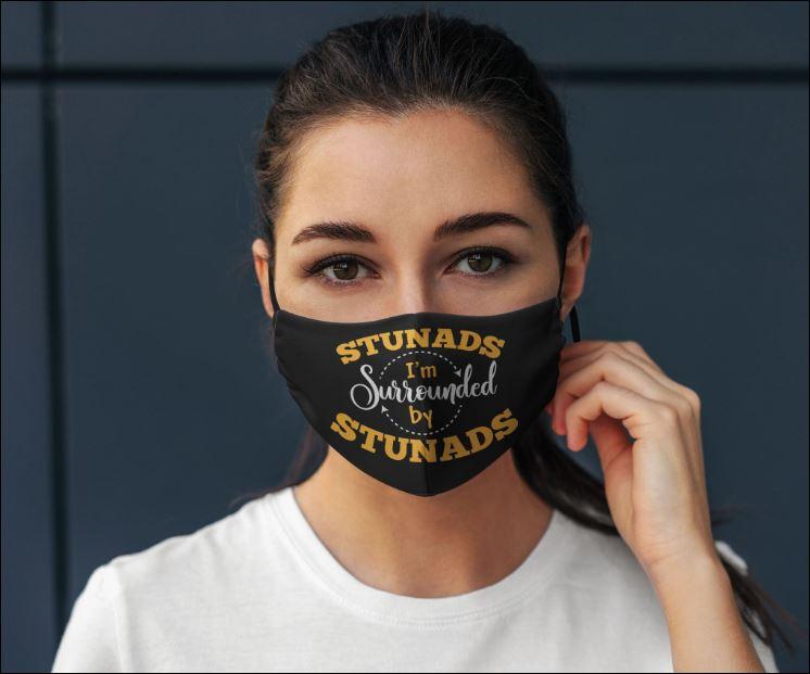 Stunads i'm surrounded by stunads face mask
