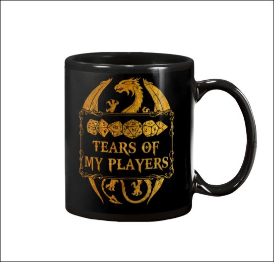 Tears of my players mug