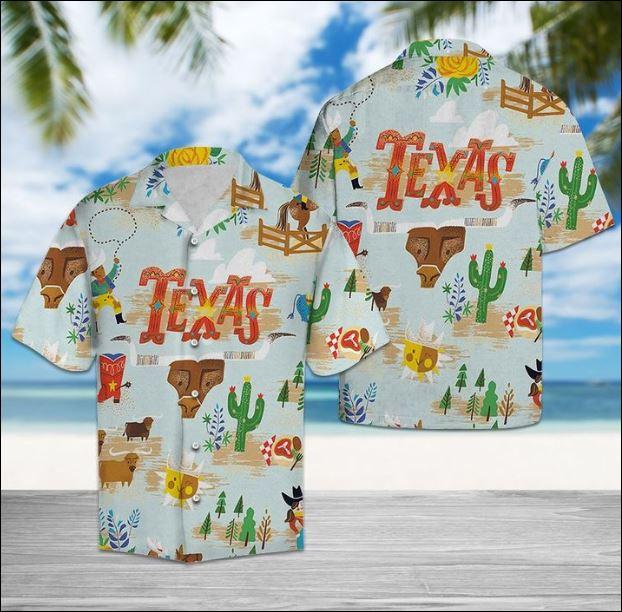 Texas hawaiian shirt