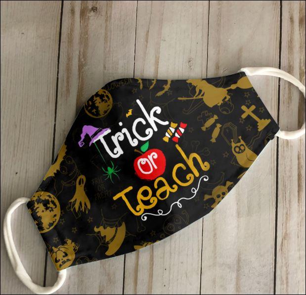 Trick or teach face mask