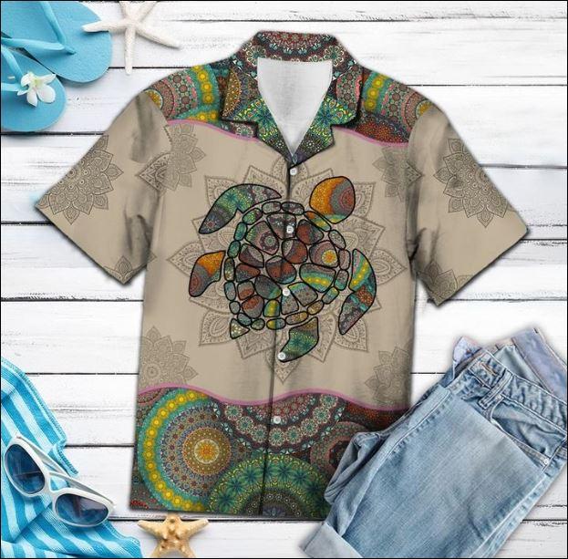 Turtle Mandala hawaiian shirt