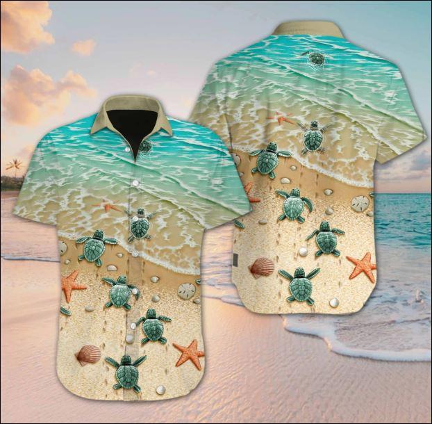 Turtle beach Hawaiian shirt