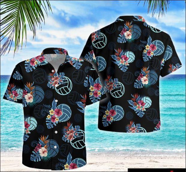 Volleyball tropical hawaiian shirt