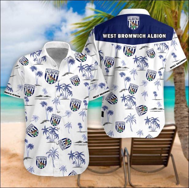 West Bromwich Albion tropical hawaiian shirt