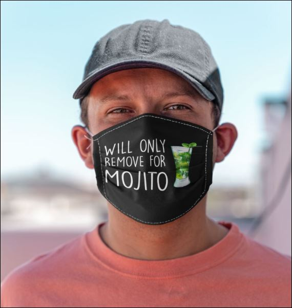 Will only remove for Mojito face mask