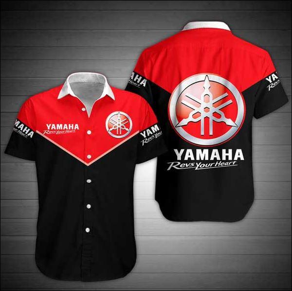 Yamaha hawaiian shirt