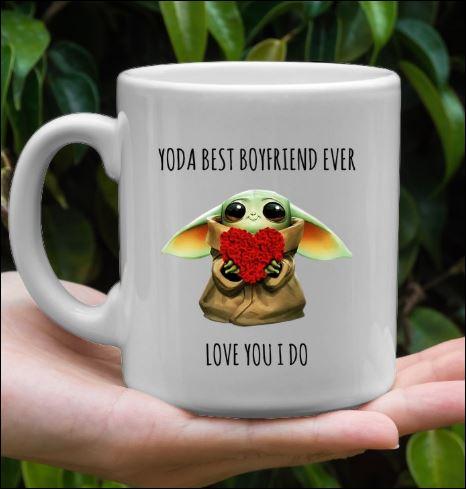 Yoda best boyfriend ever love you i do mug