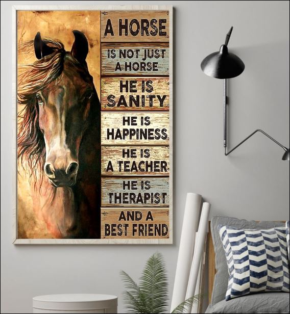 A horse is not just a horse poster 1