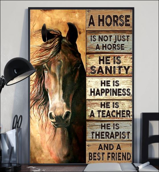 A horse is not just a horse poster 2
