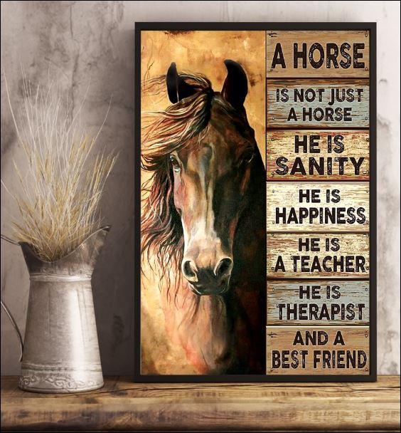 A horse is not just a horse poster 3