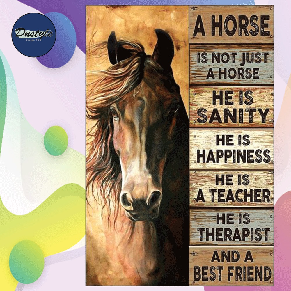 A horse is not just a horse poster