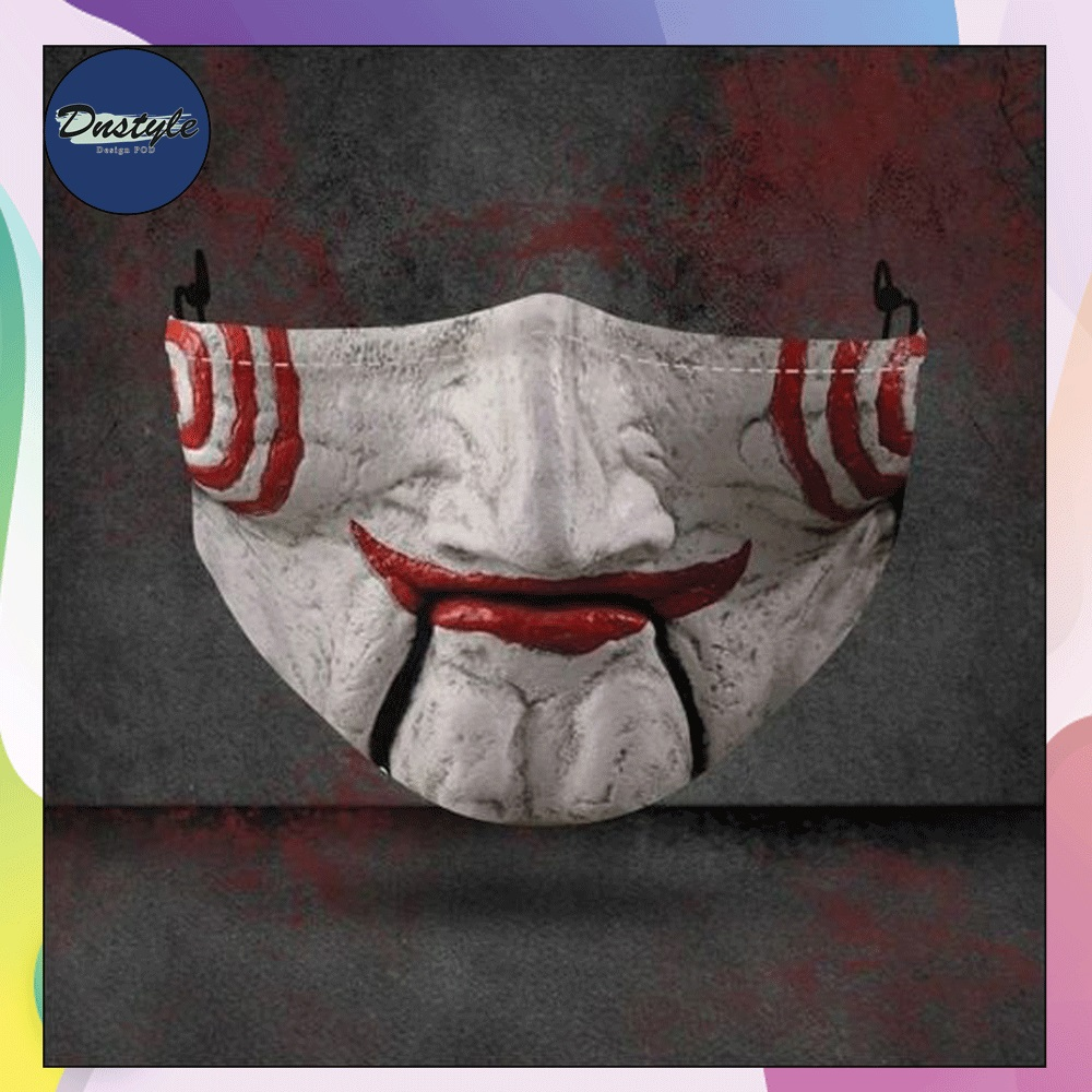 Billy the Puppet mouth 3D face mask