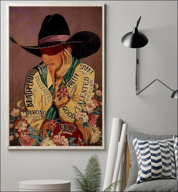 Cowgirl i am vertical poster 1