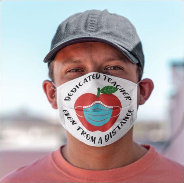 Dedicated teacher even from a distance face mask