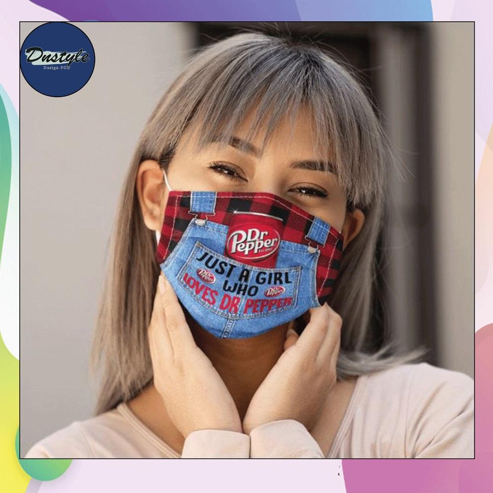 Dr Pepper just a girl who loves dr pepper face mask