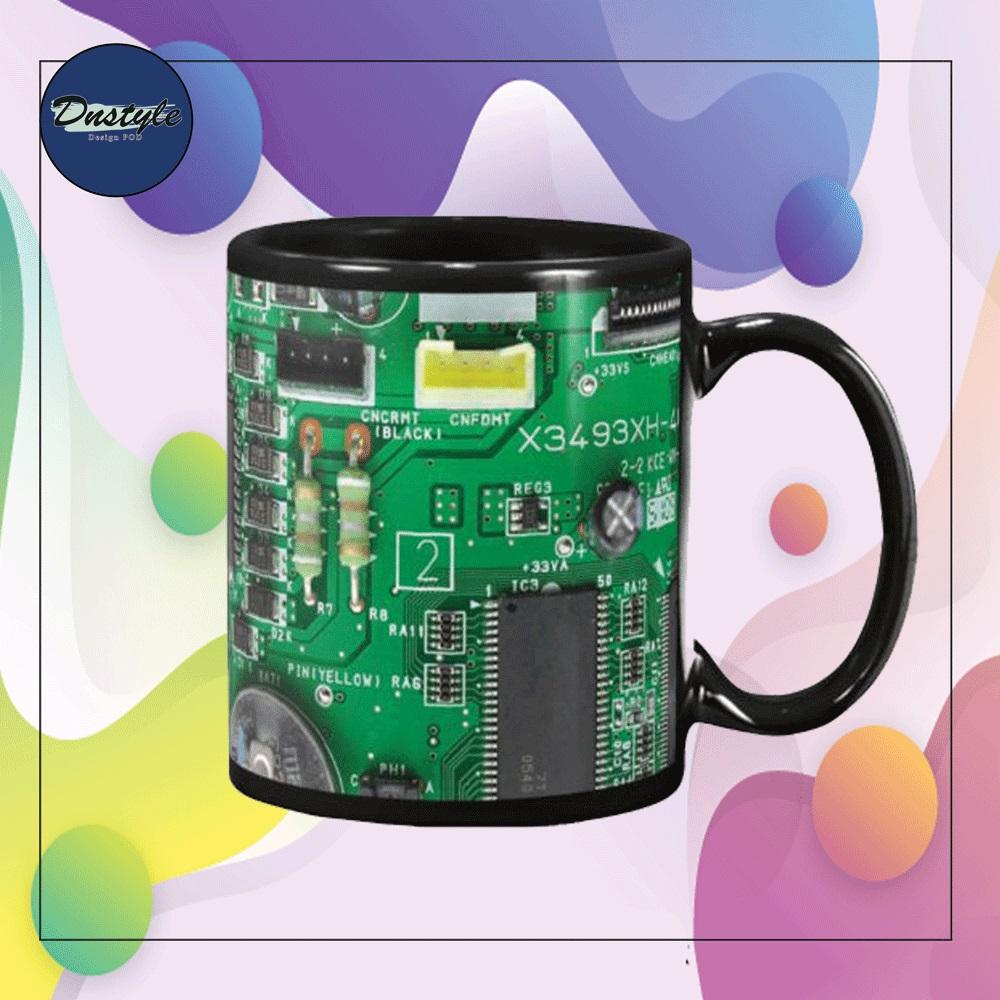 Electrician board mug