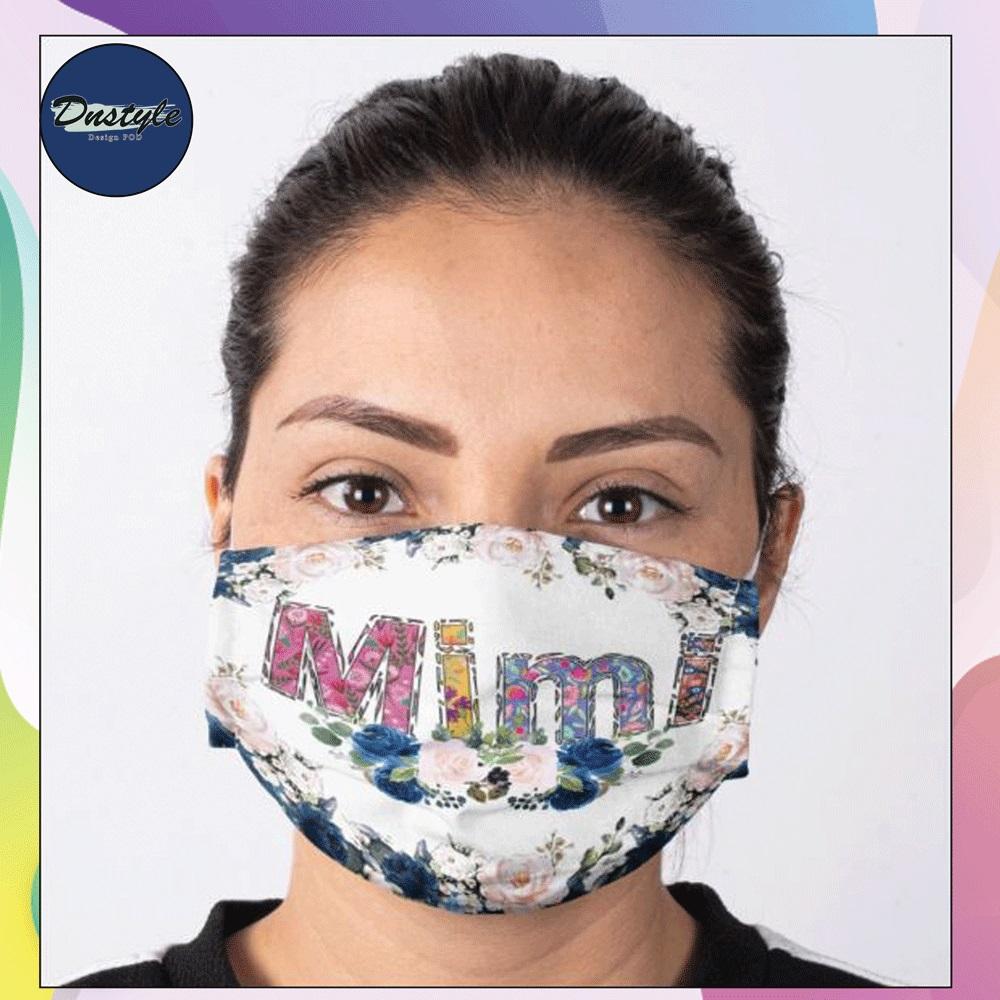 Floral Mimi face mask