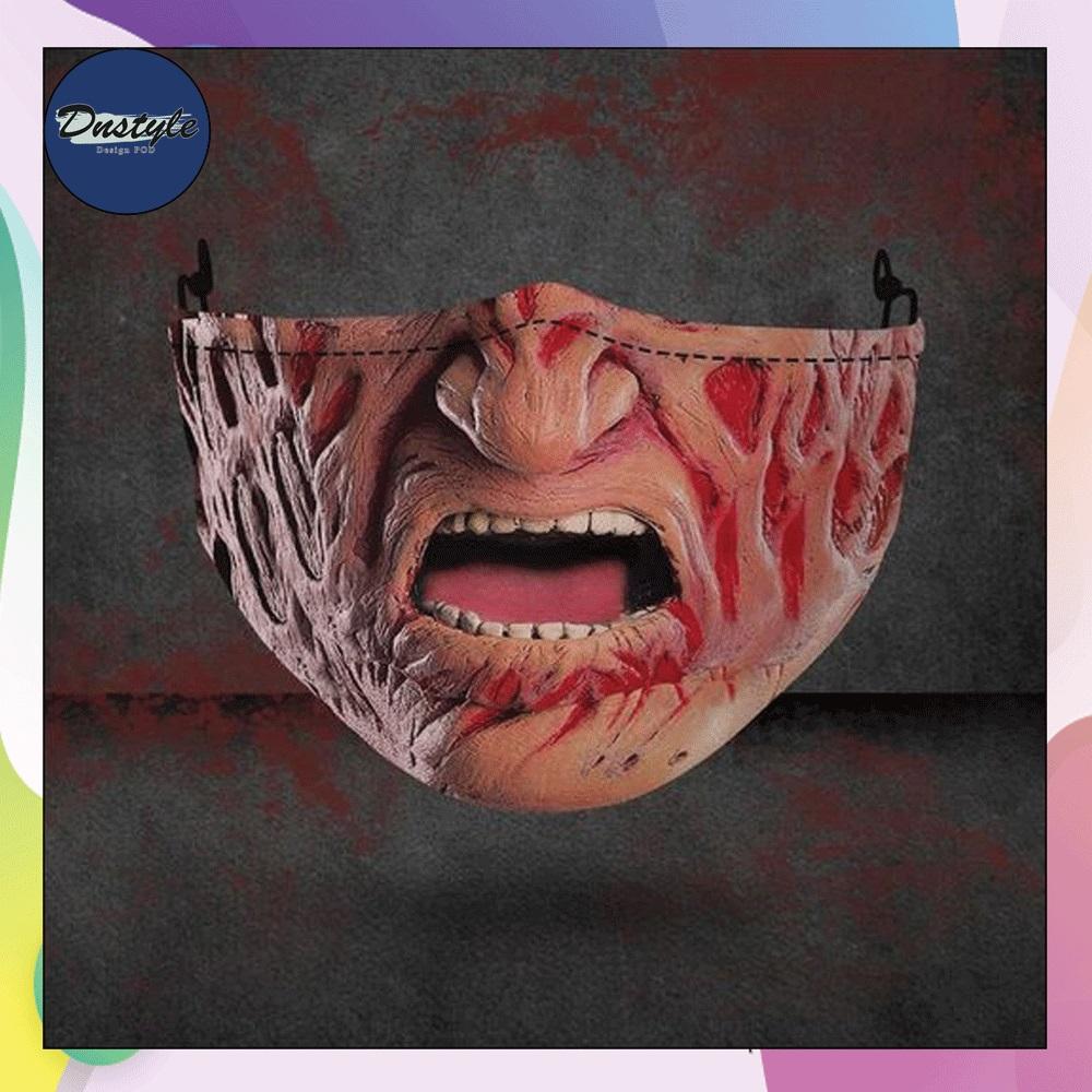 Freddy Krueger mouth 3D face mask